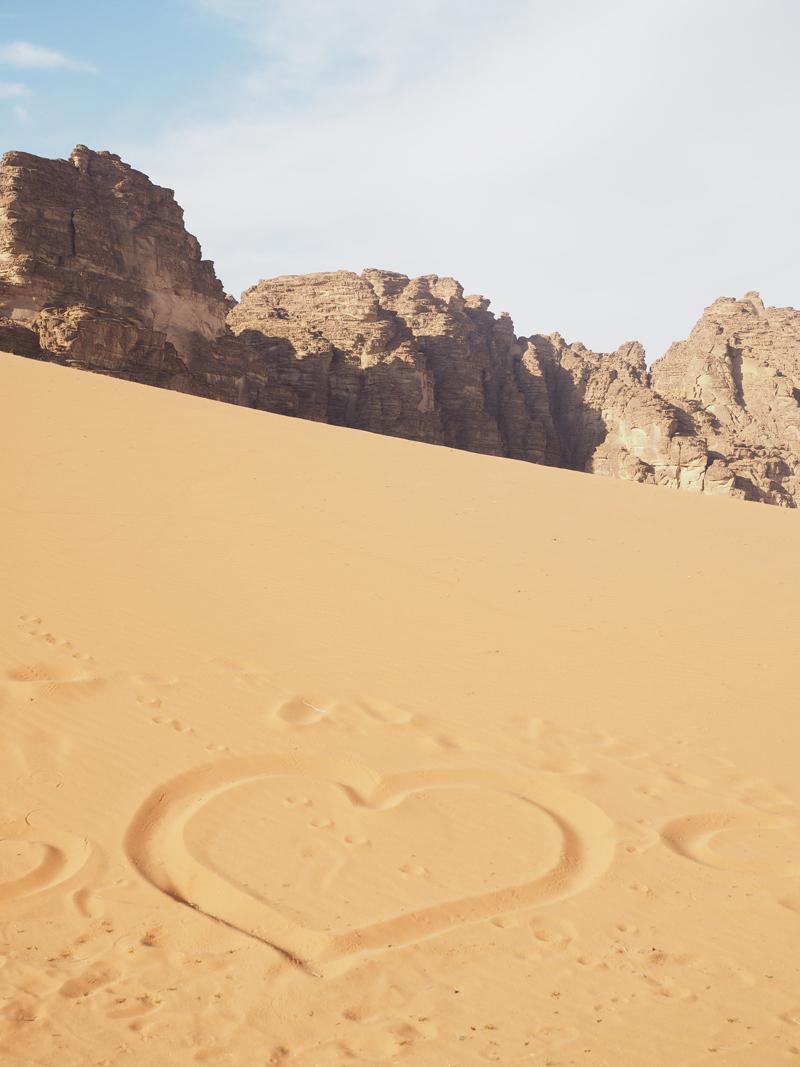 traveling to Jordan Wadi Rum desert