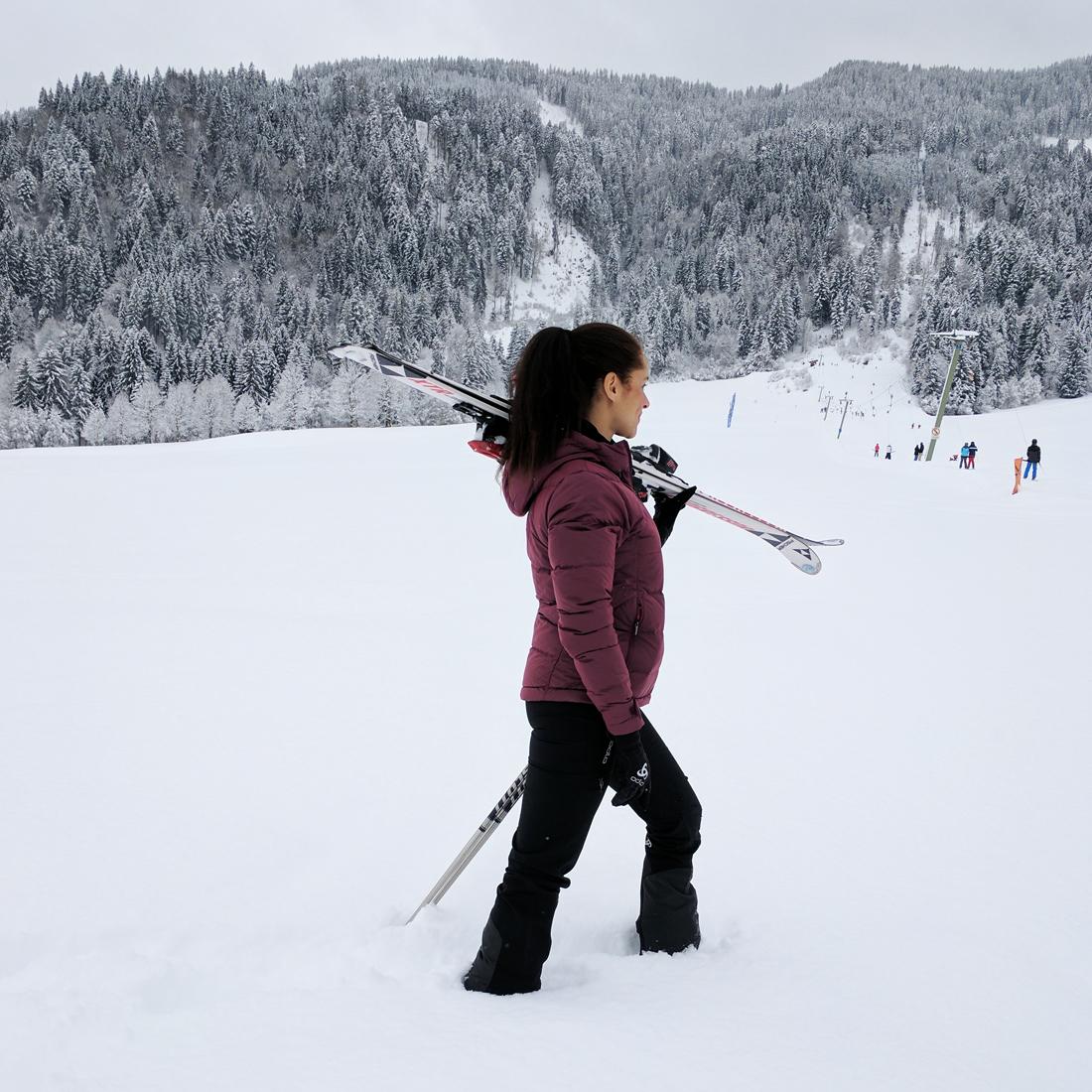 A weekend in Kirchberg in Tirol ski