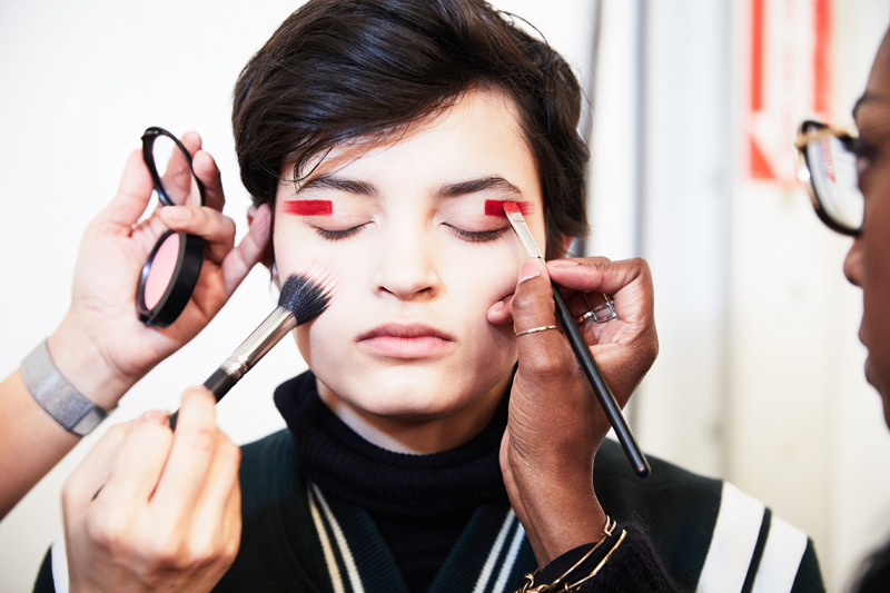 Make Up Desigual_New York Fashion Week_Ambra Vernuccio_Make Up_3