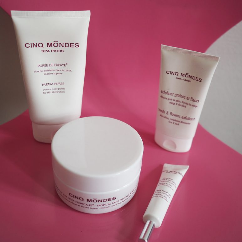 Cinq mondes – Skin care products