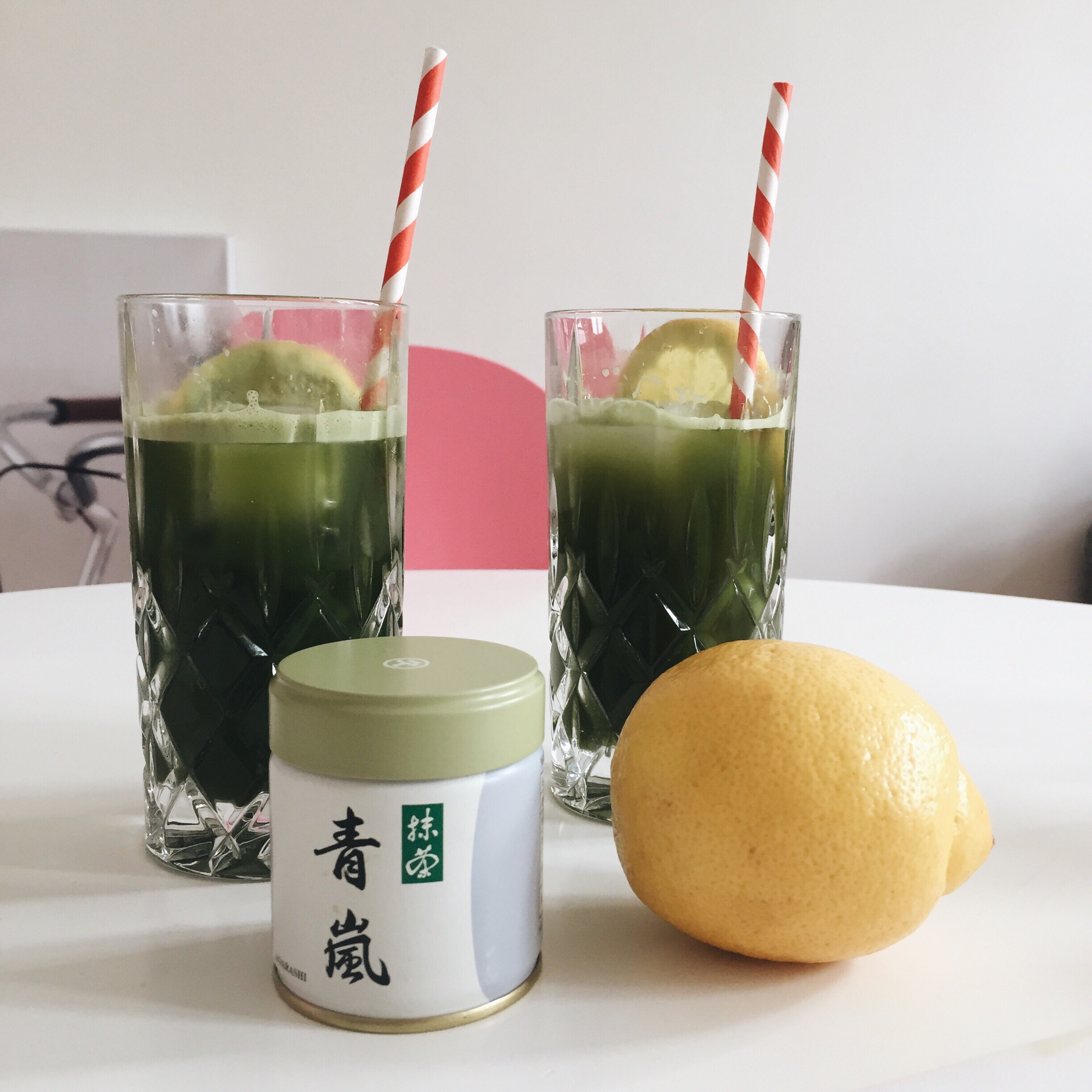 recipe idea matcha limonade