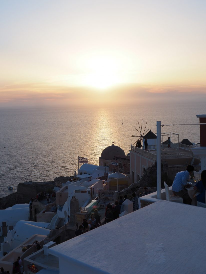 2 days in Santorini | Itinerary and things to do Sunset Oia