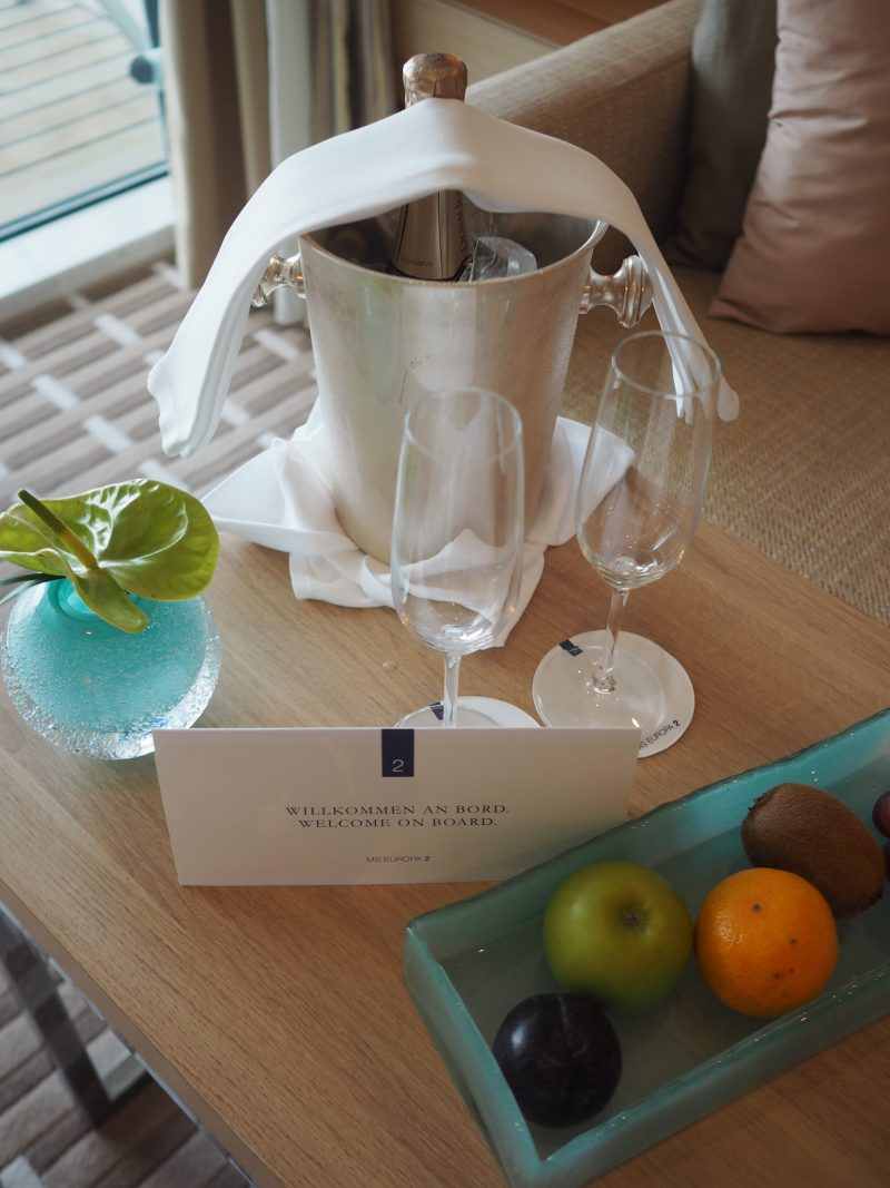 5 stars plus luxury cruise MS Europa 2 welcome gift-min