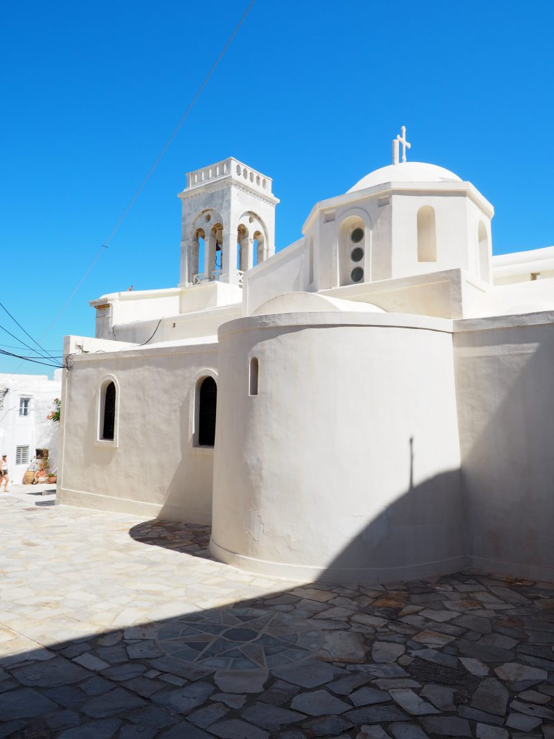 Cyclades Island Naxos Greece church