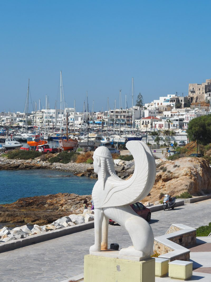 Cyclades Island Naxos Greece port