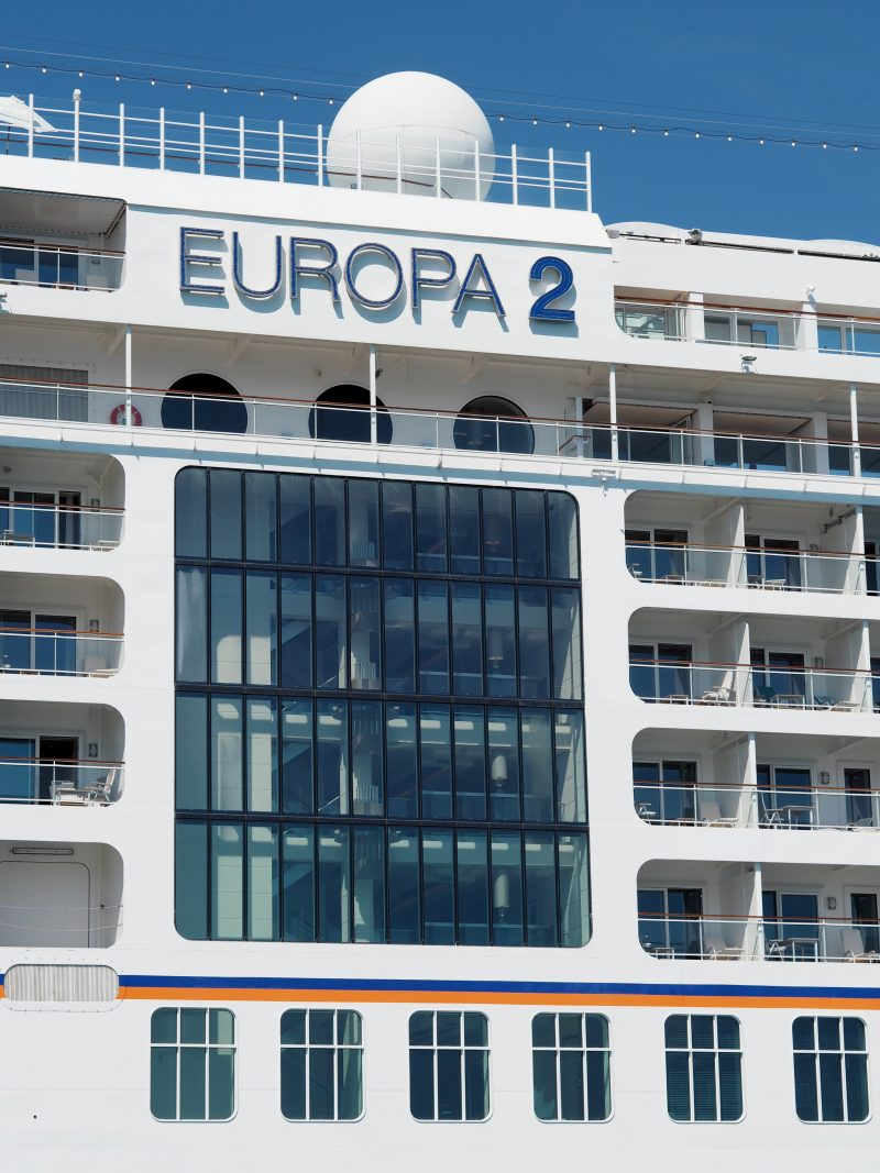 On board one of the most luxurious cruise ship : The MS Europa 2