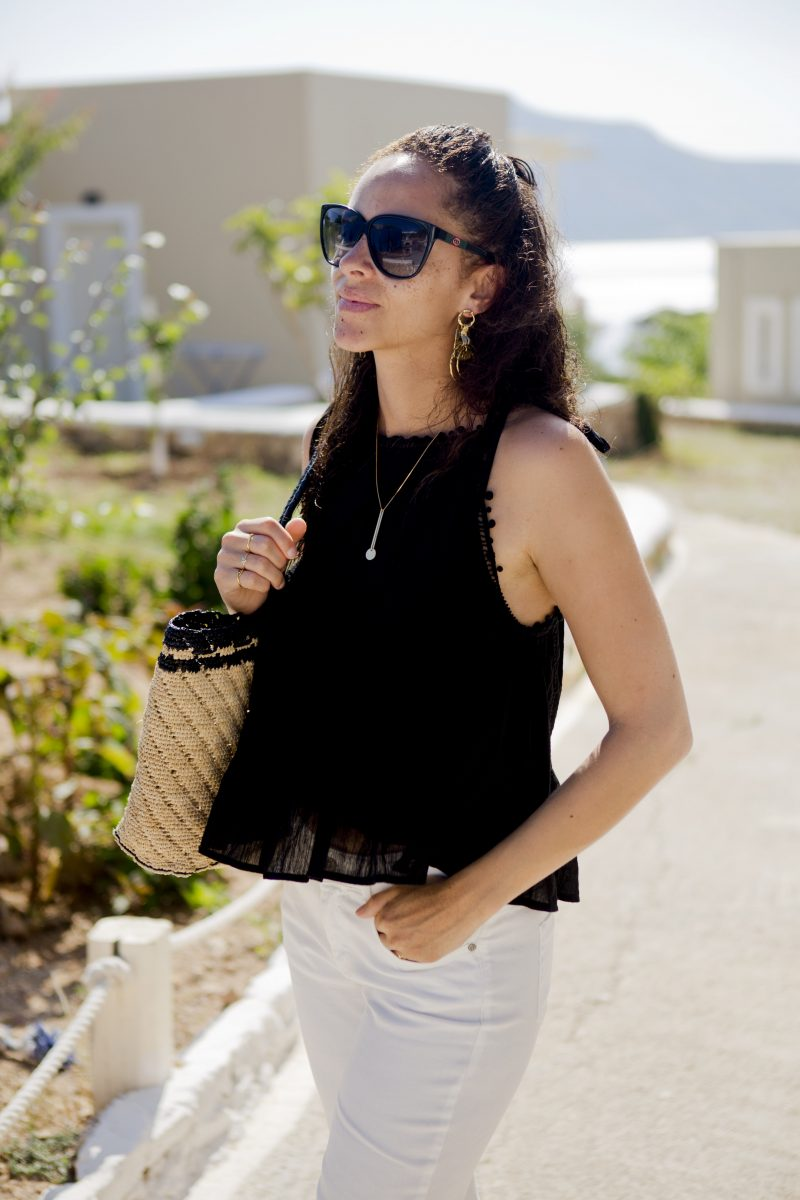 Berlin fashion blogger seafolly top