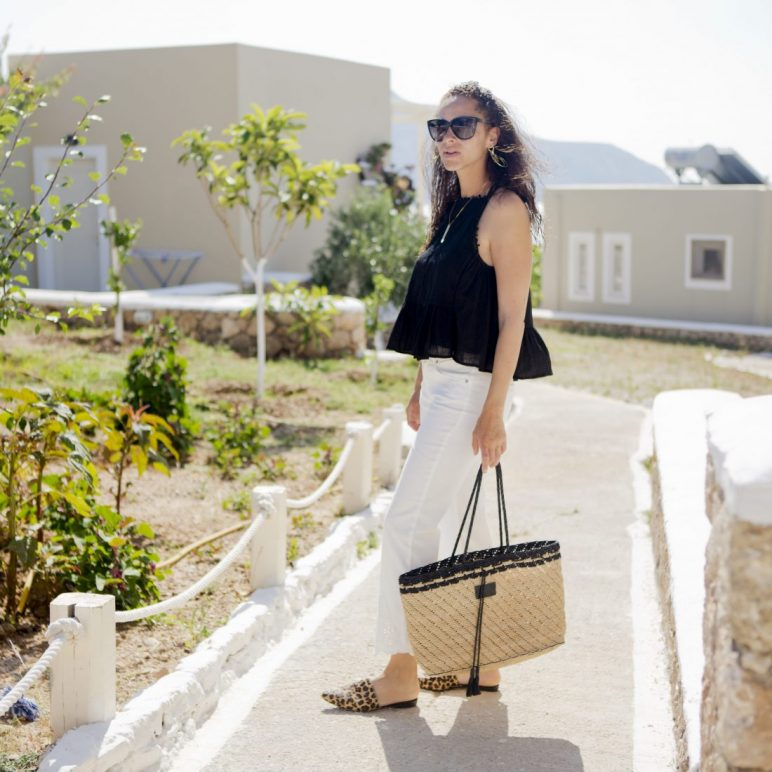 Outfit – Oui Fashion pants and Seafolly top