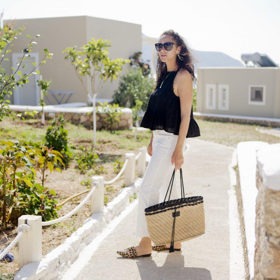 Oui fashion white jeans vagabond leopard mules_5-min