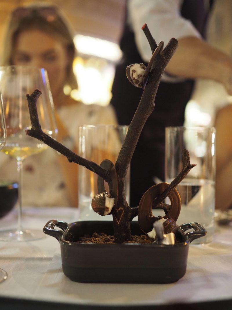 Tian restaurant Vienna Michelin 1 star dessert