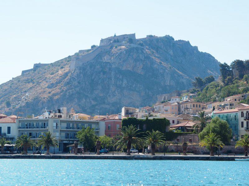 Town Nauplia Peloponnese Greece