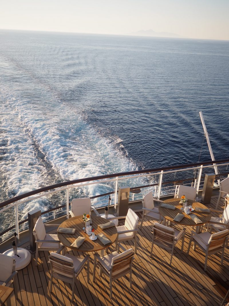 On board one of the most luxurious cruise ship : The MS Europa 2 Yacht club