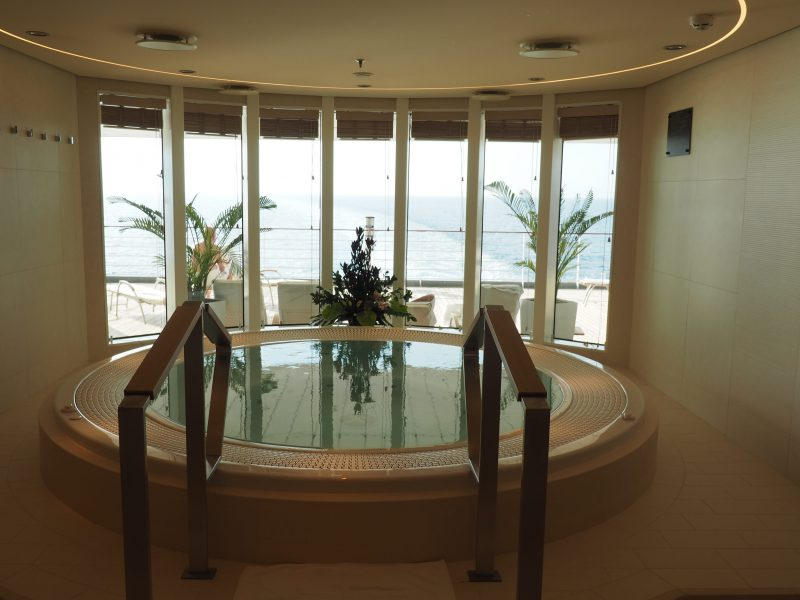 On board one of the most luxurious cruise ship : The MS Europa 2 spa