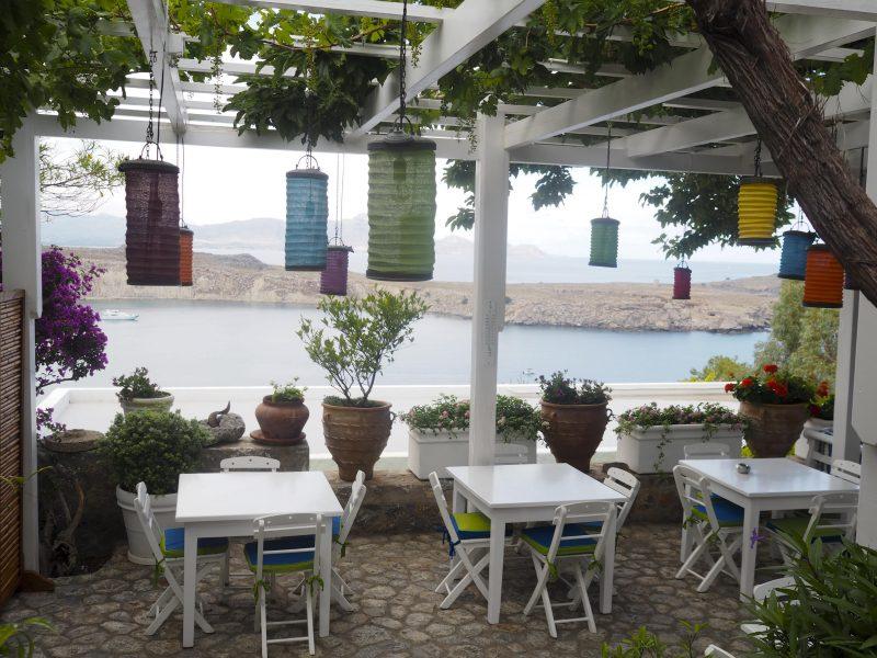 restaurant in Lindos Rhodos Greece