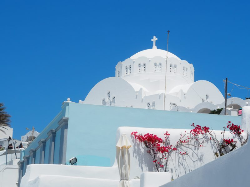 white-church-thira-Santorini-Greece