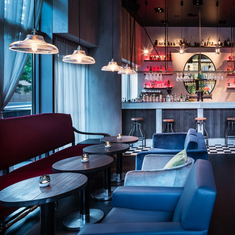 Jamboree, the bar of the Grand Hyatt in Berlin