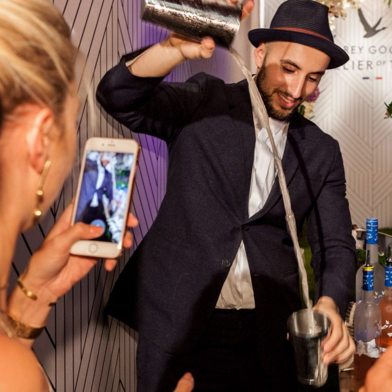 Grey Goose foodpairing at the GQ Mension in Berlin