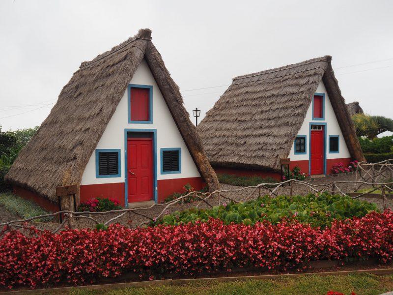 Madeira typical houses Santana