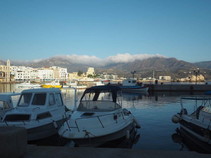 Port of Diafani karpathos