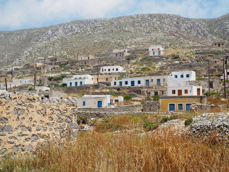 rural village Avlona Karpathos north of Karpathos