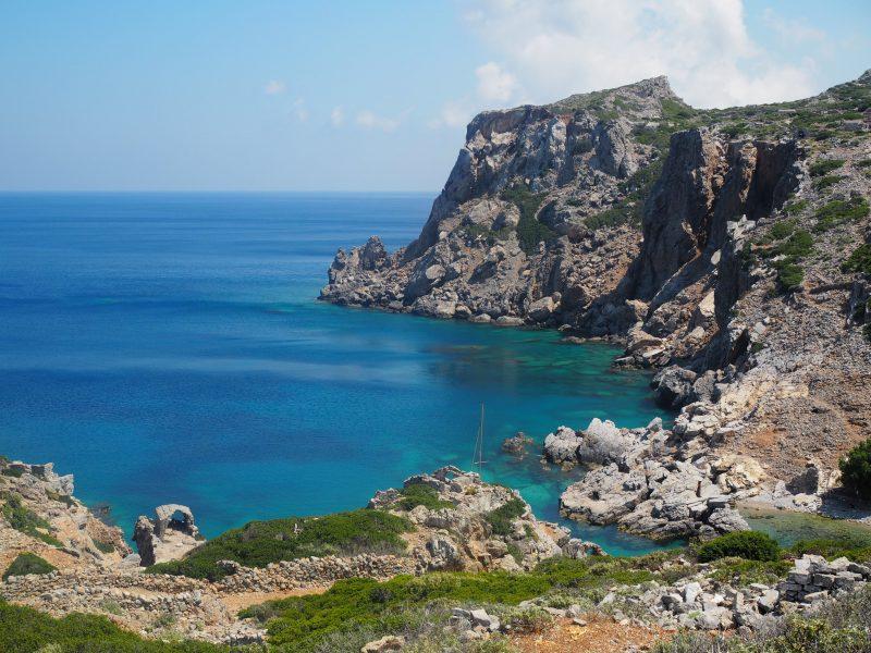 blue of Karpathos grotte