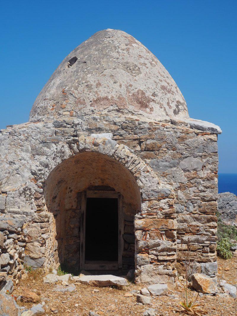 pirate village Karpathos Island of Saria