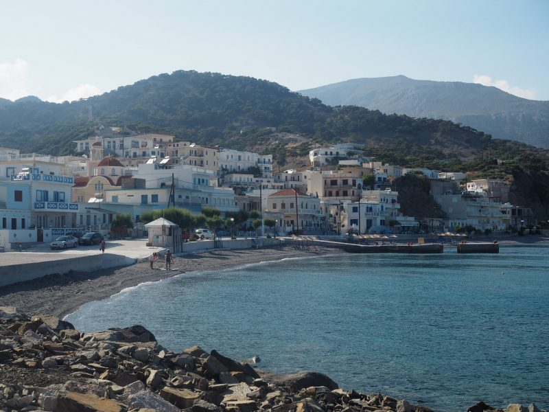 port of Diafani Karpathos North of Karpathos