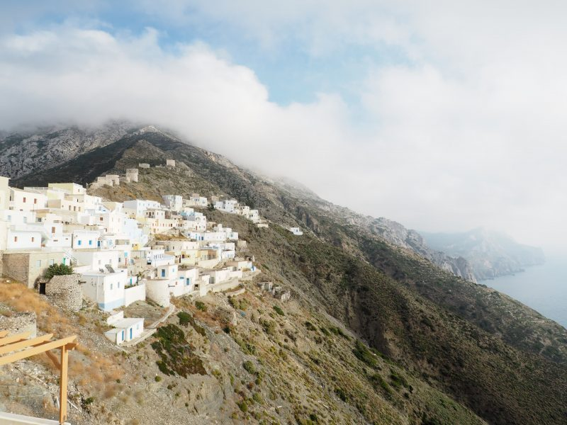 village of Olympos Karpathos