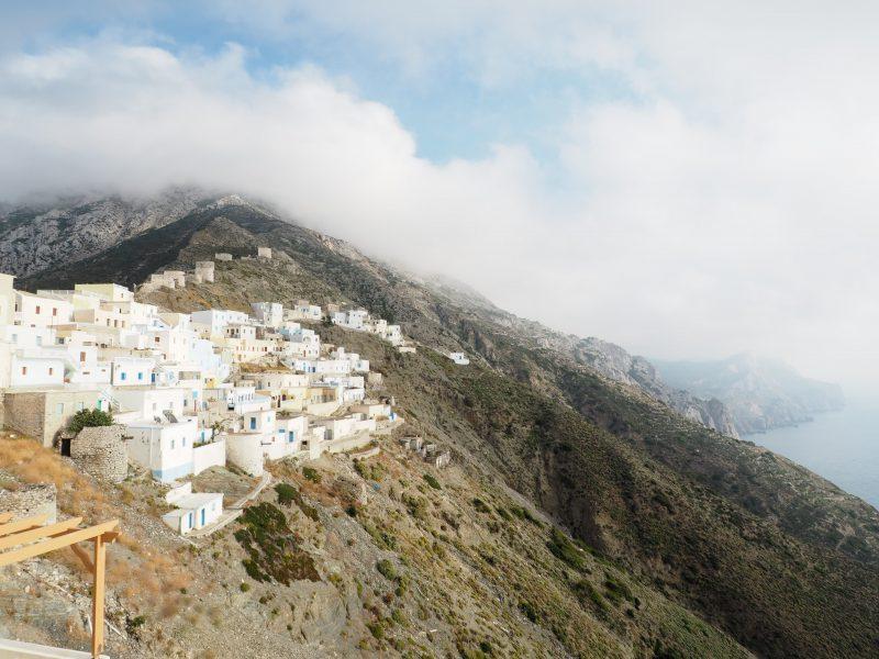 highest village of Olympos Karpathos