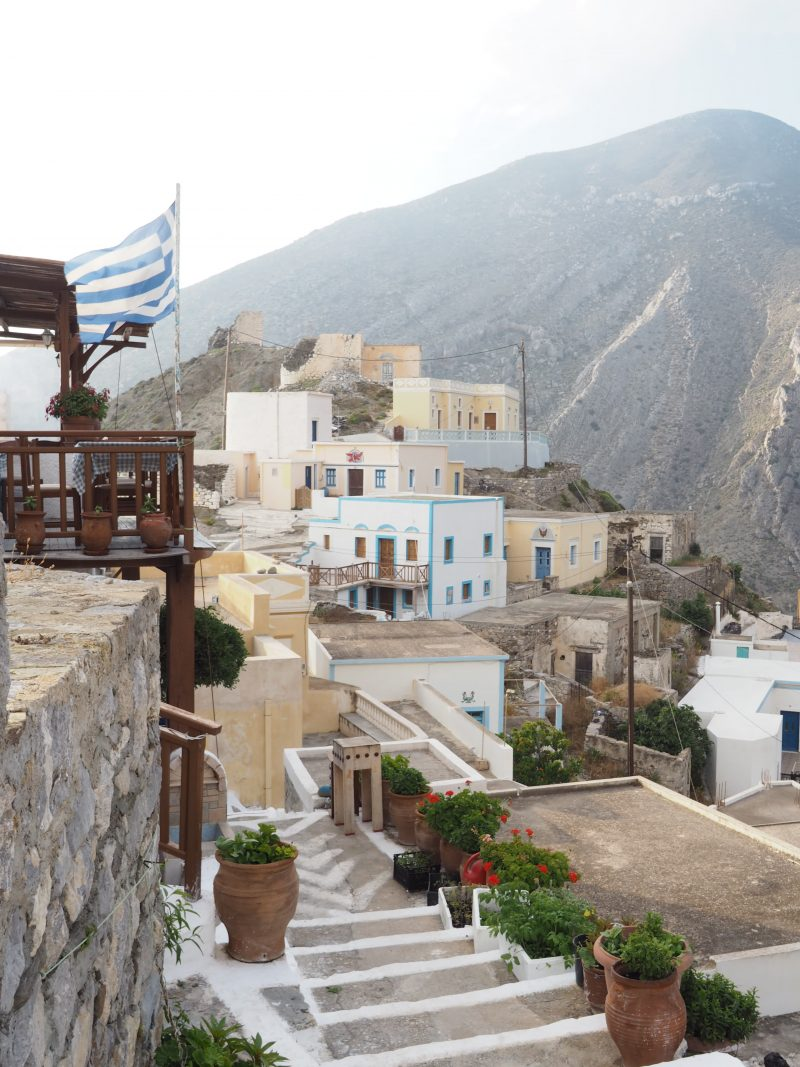 greek most traditional village Olympos Karpathos