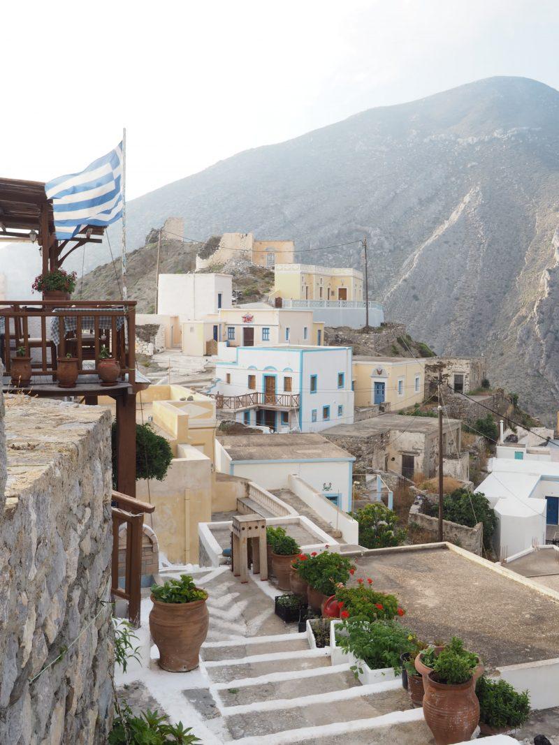 greek most traditional village Olympos Karpathos