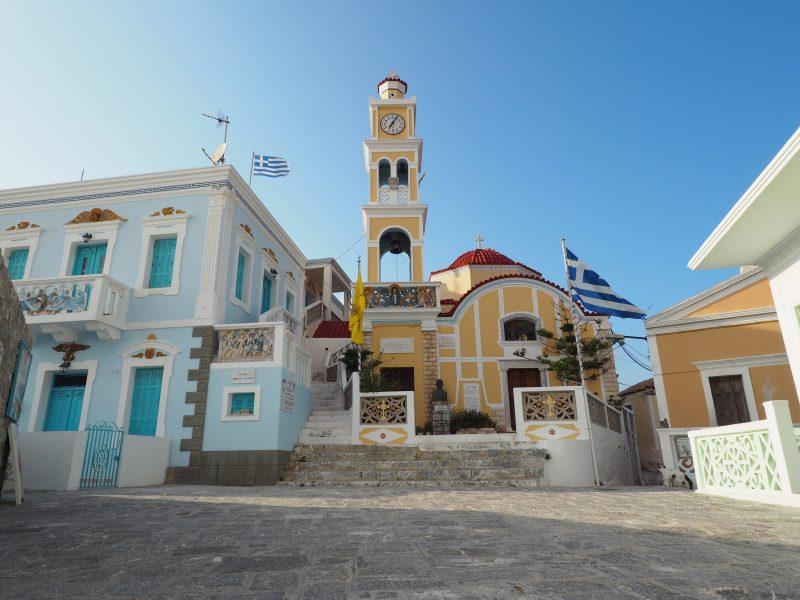 village of Olympos Karpathos