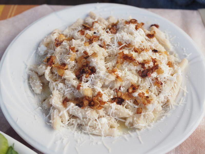 makarounes Karpathos traditional dish