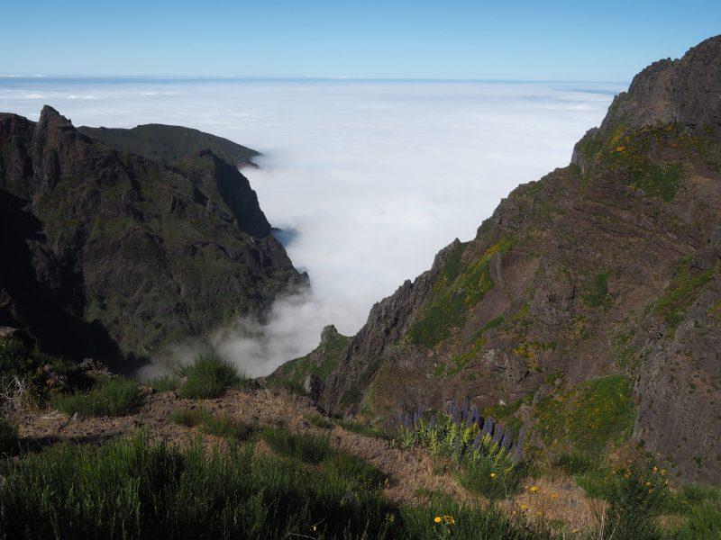 Things to do in Madeira - Madeira walks Pico de Arieiro Madeira above the clouds