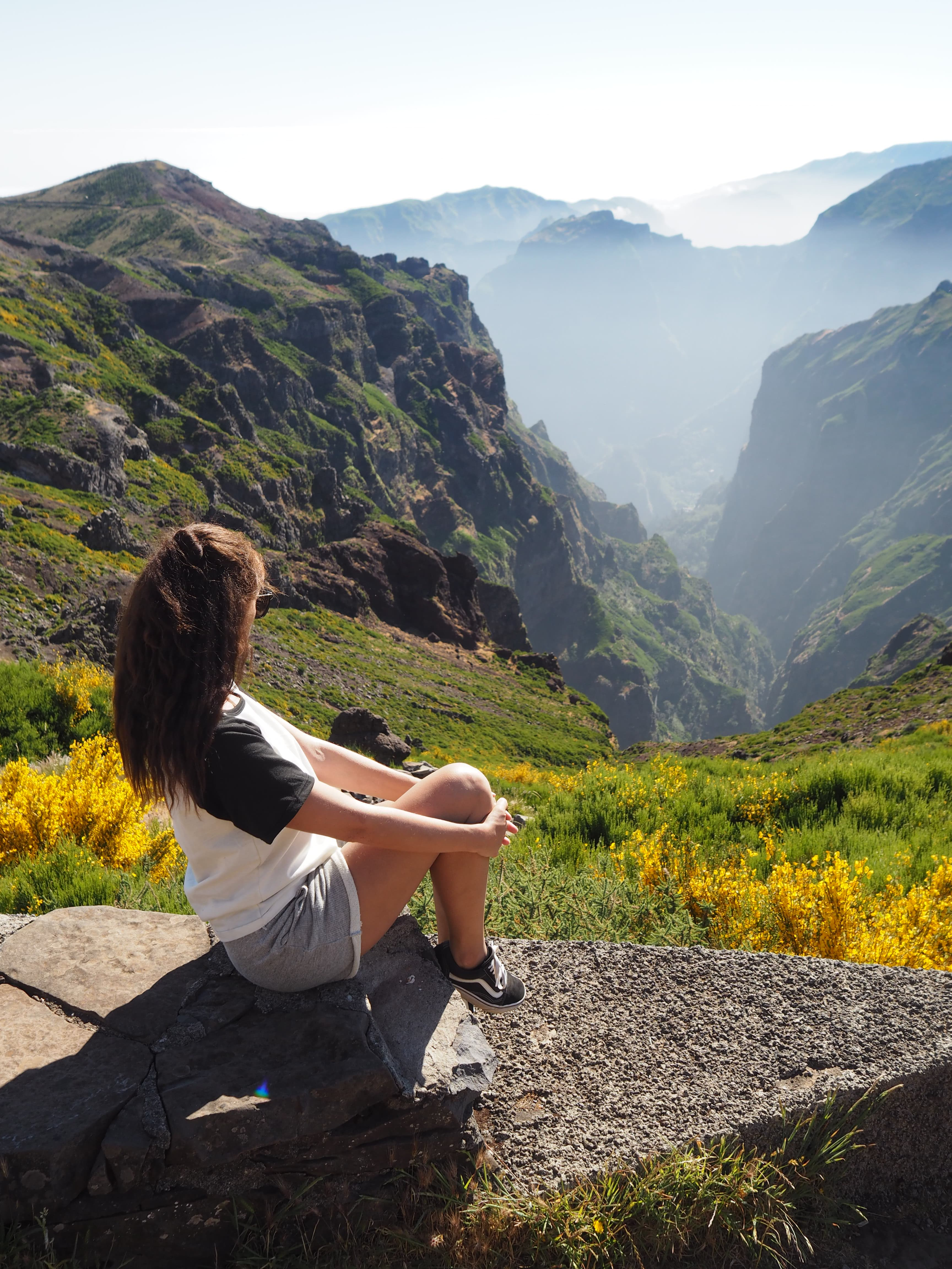 most beautiful Madeira walks Pico de Arieiro