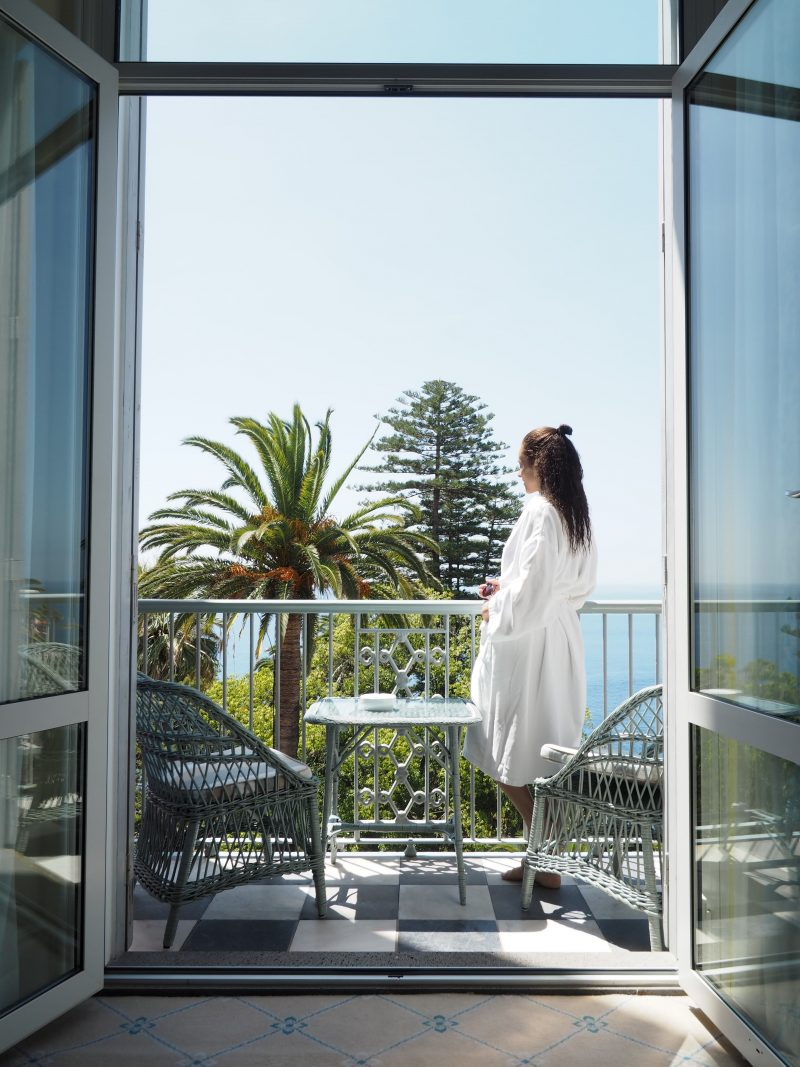 room balcony The Belmond Reid's palace Funchal Madeira