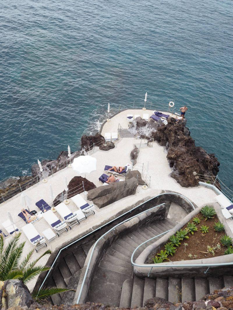 sea access The Belmond Reid's palace Funchal Madeira