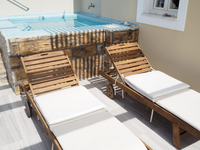 where to sleep Karpathos Silen villas private pool