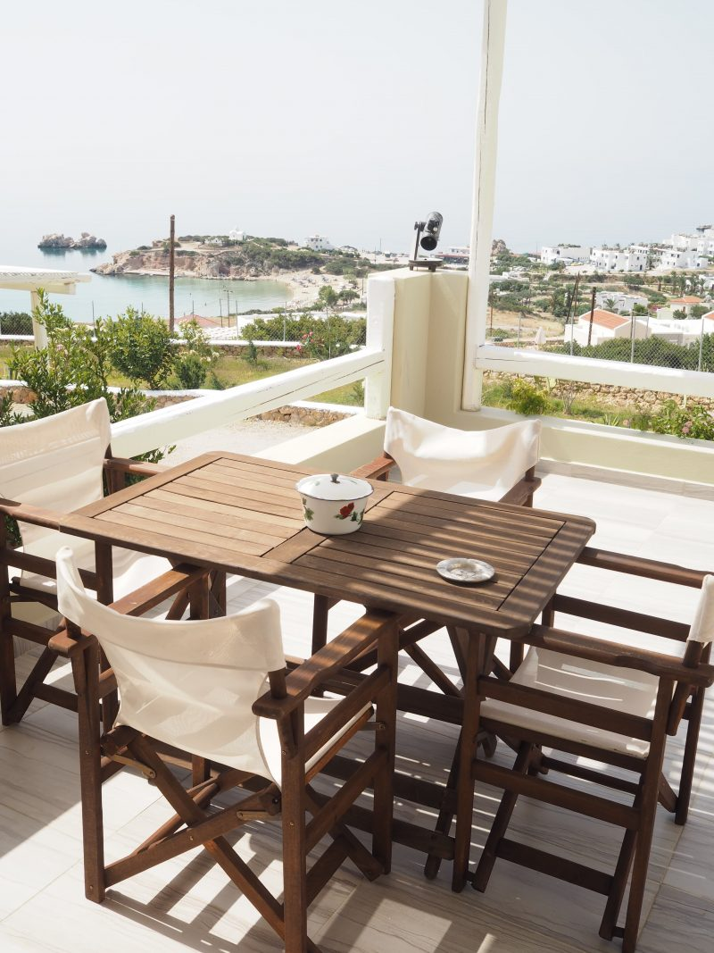 where to sleep Karpathos Silene Villas terasse