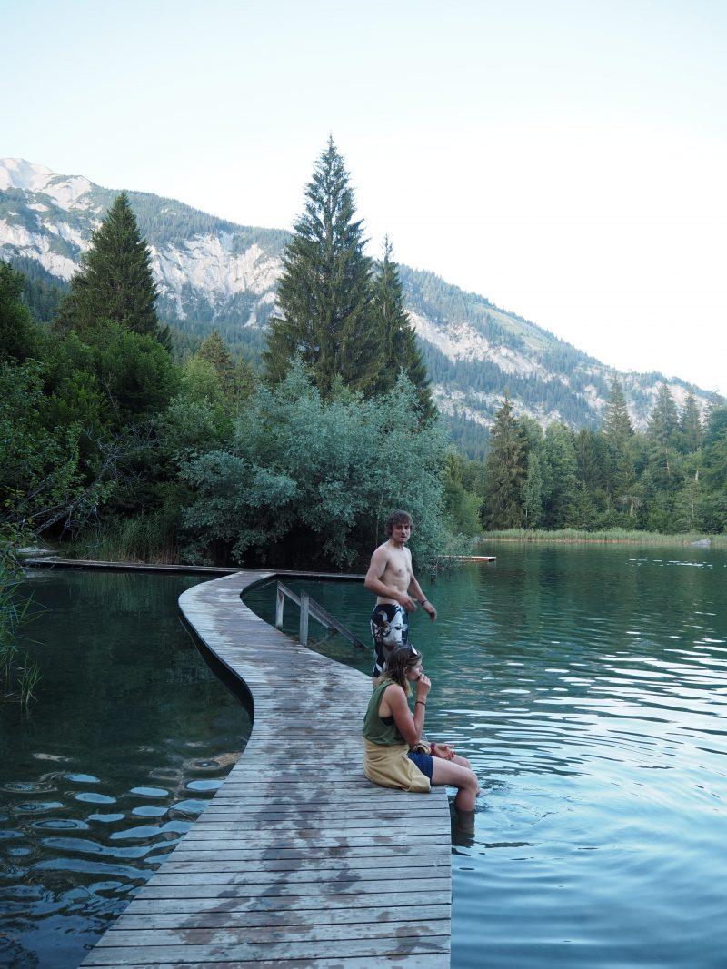 Crestasee Flims Switzerland