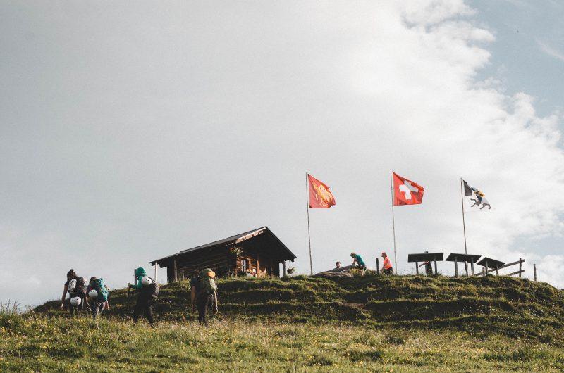Hiking Flims Switzerland