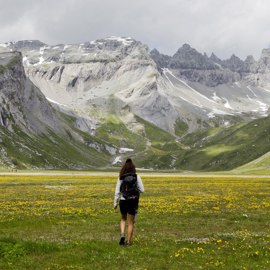 Summer in Flims Switzerland – Hiking Via ferrata turquoise lakes