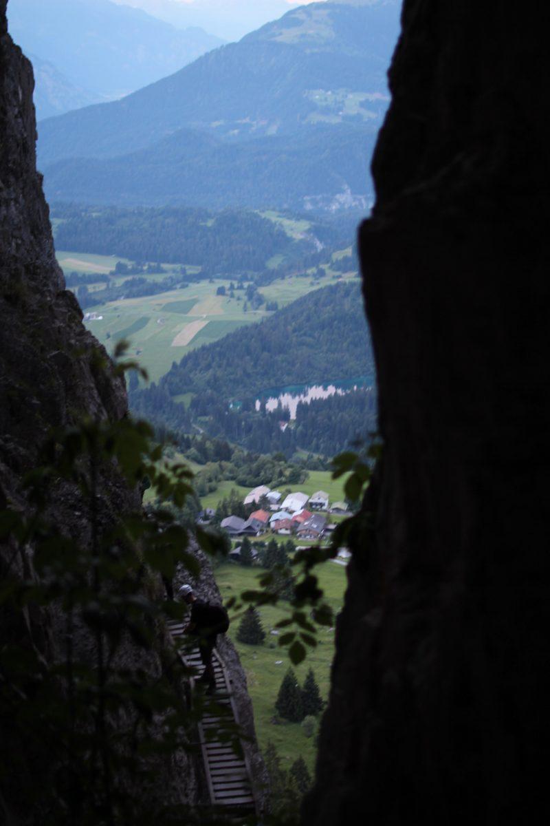 Switzerland summer vacation in Flims