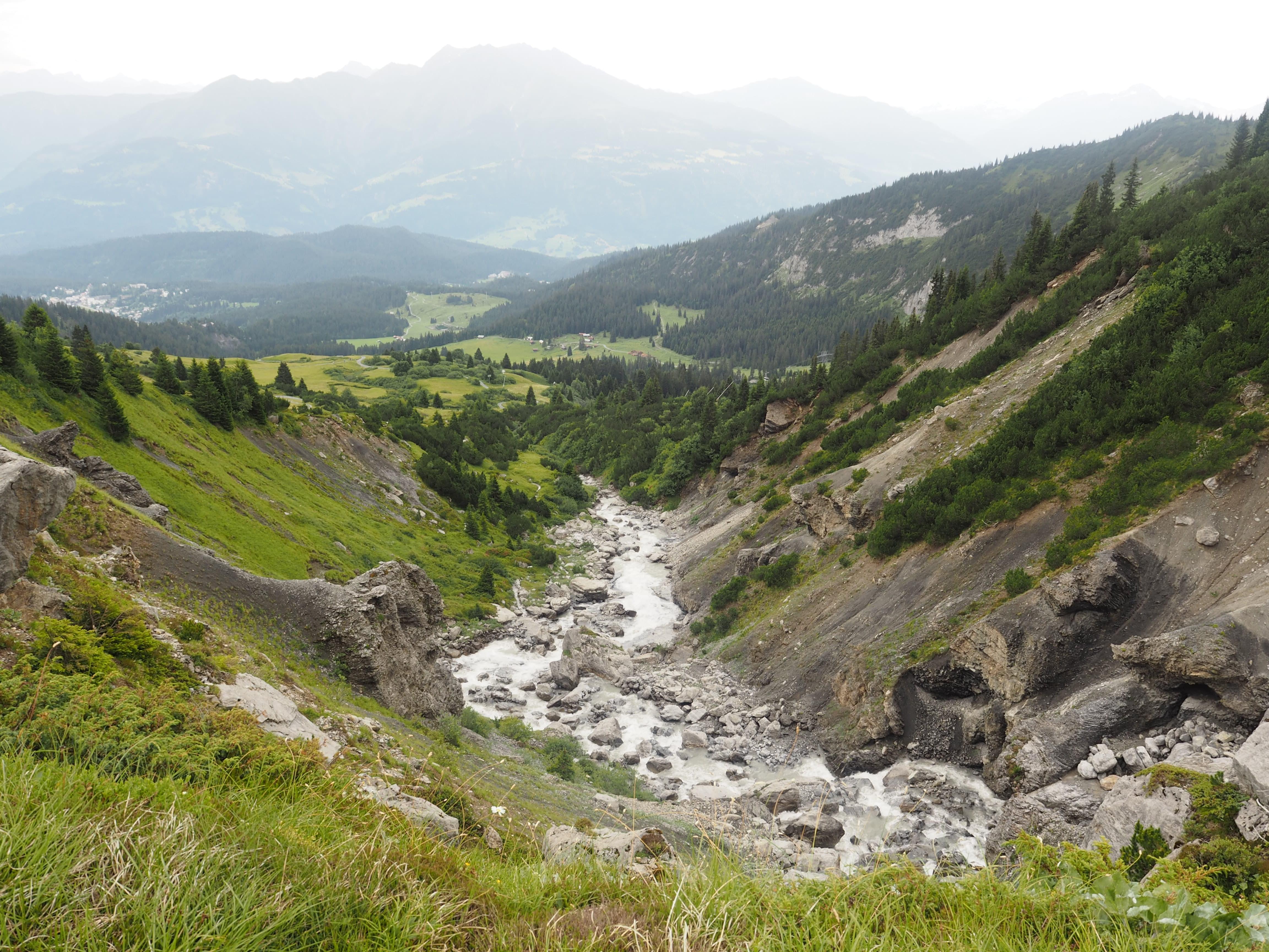 Summer in Flims watertrail TRUTG DI FLEM