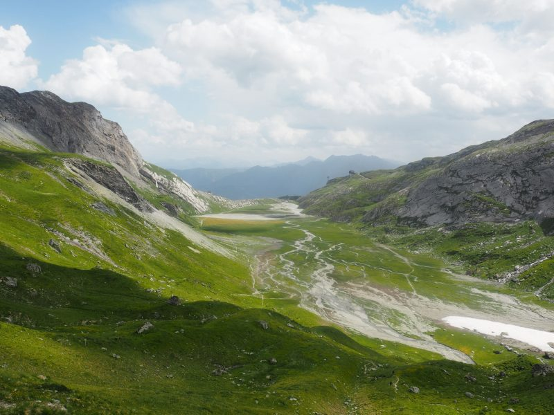 hike Segnes plains Switzerland summer vacation in Flims