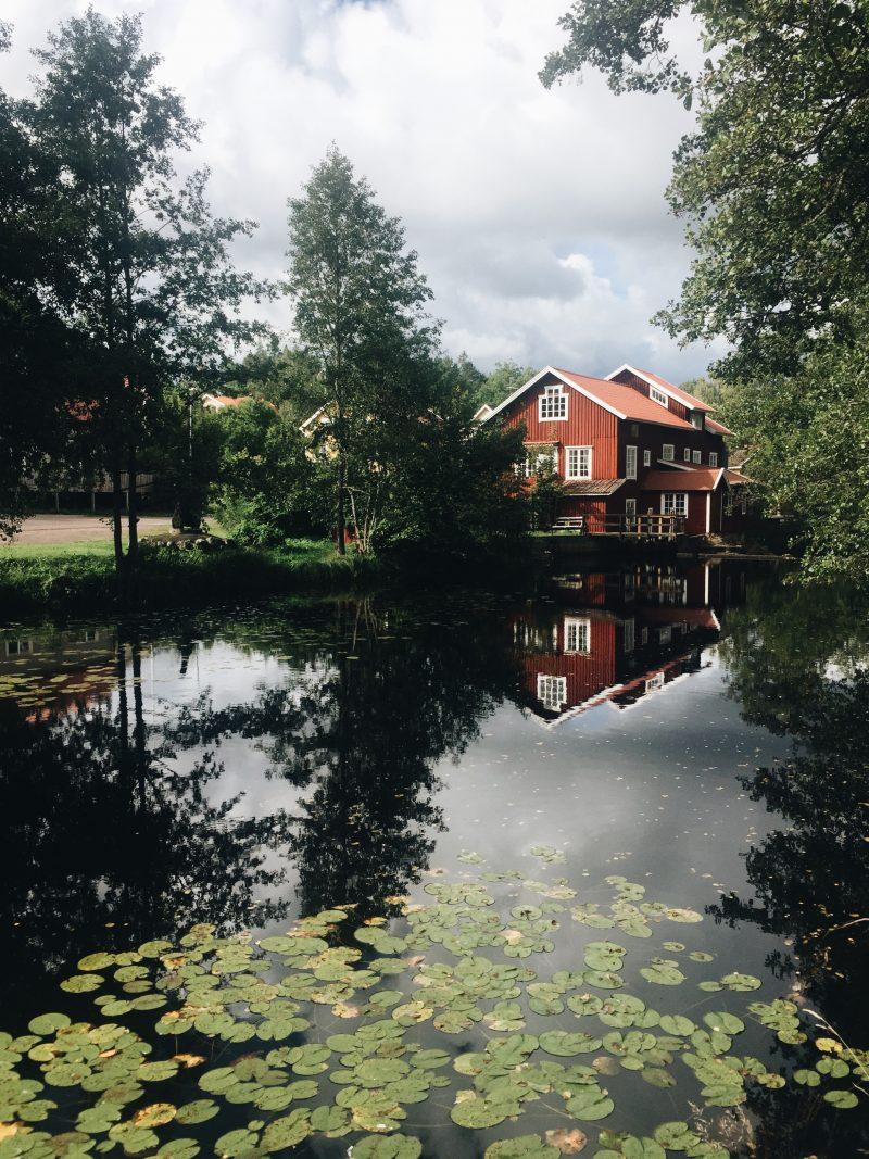 Swedish Fika at Mörtfors in Småland Sweden