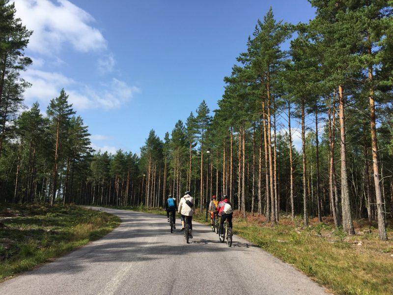 outdoor activities in Smaland, Sweden Biking in Västervik