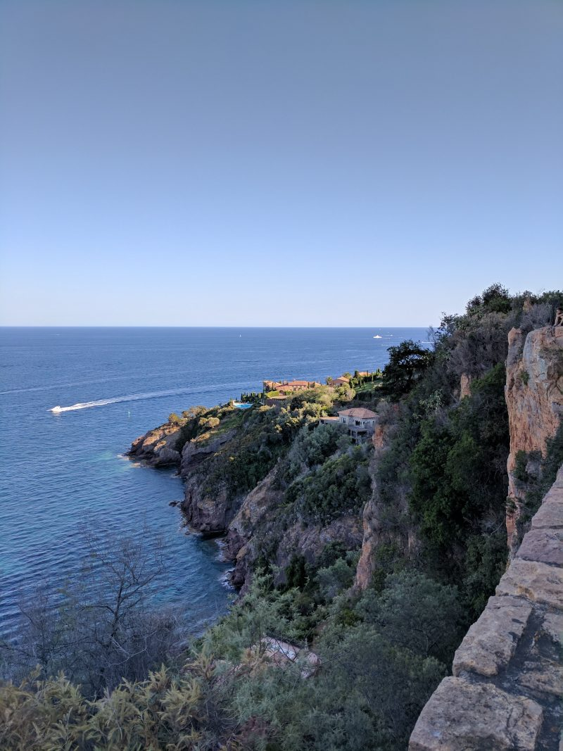 Esterel massif - Take the Corniche d'Or one of the most beautiful road in France