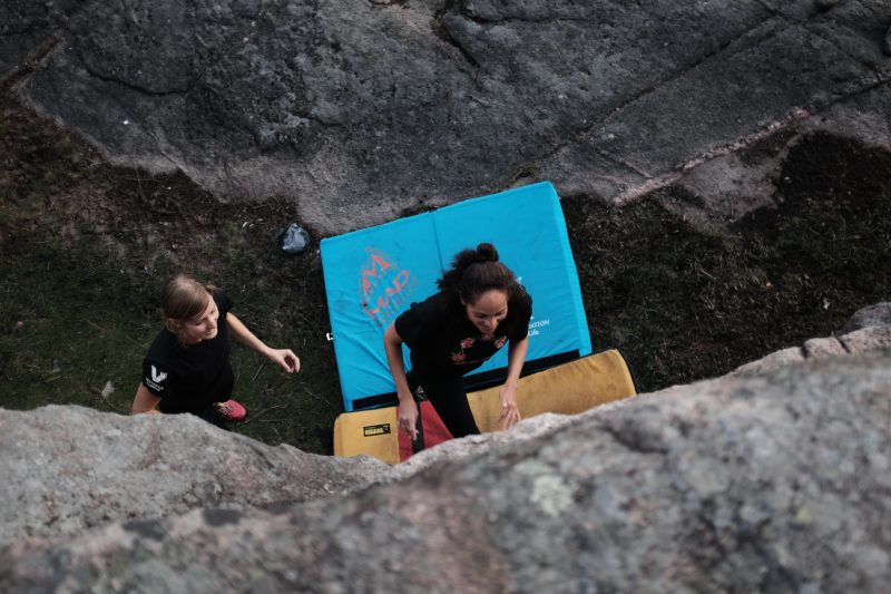 Bouldering in Småland Kalmar Sweden