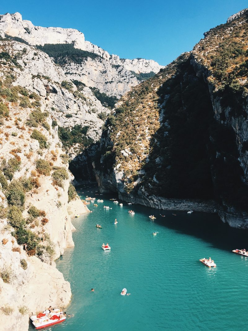 Provence Itinerary | Route in Gorges du Verdon, France